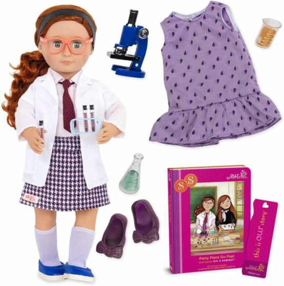 OG Deluxe Twin Doll Sia With Book