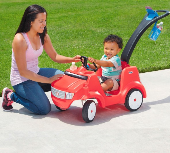 Little Tikes Quiet Drive Buggy – Red