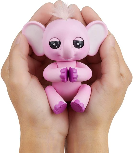 Fingerlings Baby Elephant – Pink