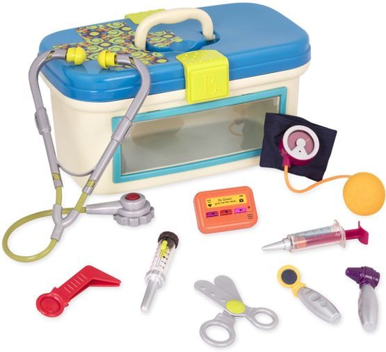 B Toys Doctor toy – Deluxe Medical Kit