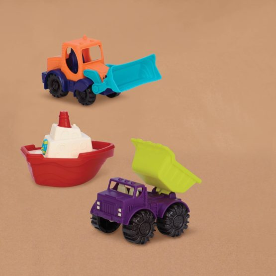 B toys 3 Mini Toy Vehicles