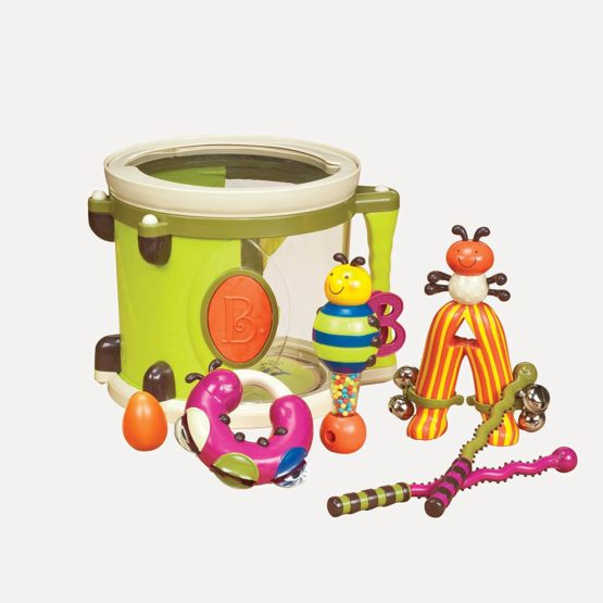 B Toys Drum Roll Drum Set