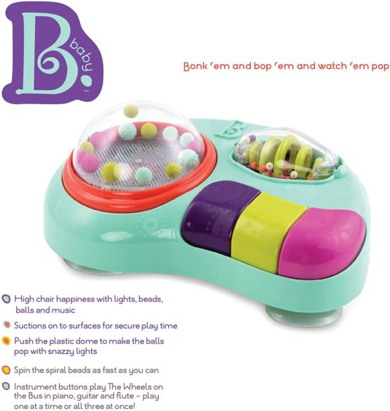 B Toys Toy Sets Sounds Activity Suction Toys
