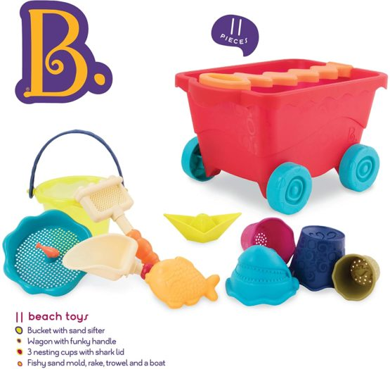 B Toys – Wavy Wagon – Travel Beach Buggy