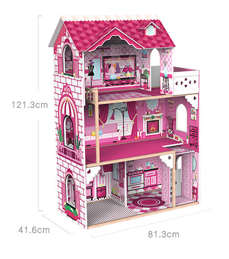 Large Wooden Villa Dream Dollhouse – Onshine
