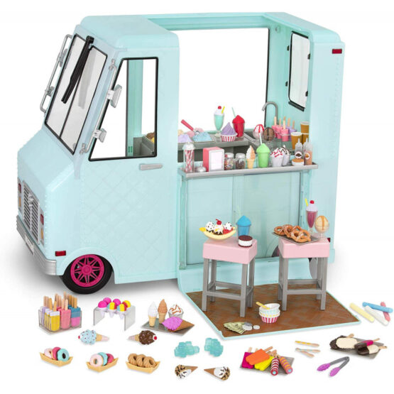 Our Generation Dolls Sweet Stop Ice Cream Truck for 45cm Dolls
