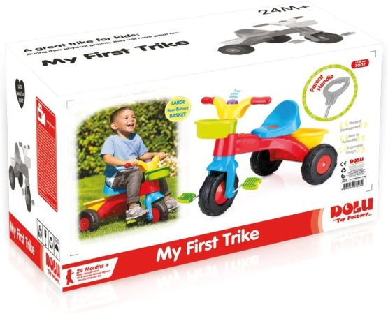 Dolu My First Trike –  Parent with adjustable handle 7007