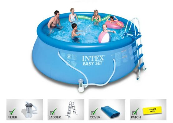Intex 26176 Round Easy Set Pool Above Ground