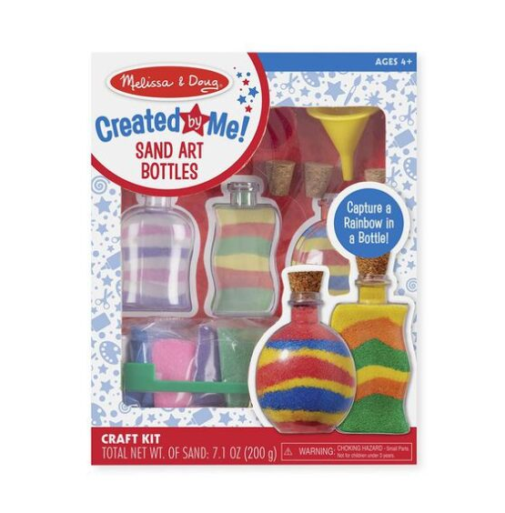 Created by me Sand Art Bottles Craft Kit