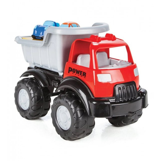 Pilsan Power Truck with Two Cars