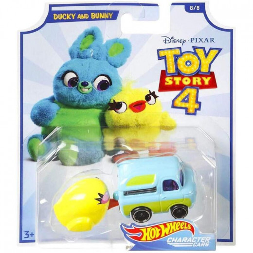 Disney Toy Story 4 Hot Wheels – Ducky and Bunny