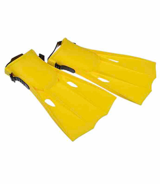 Intex Medium Fins Yellow Color