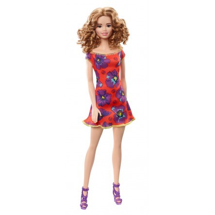 Barbie Doll with Red Dress