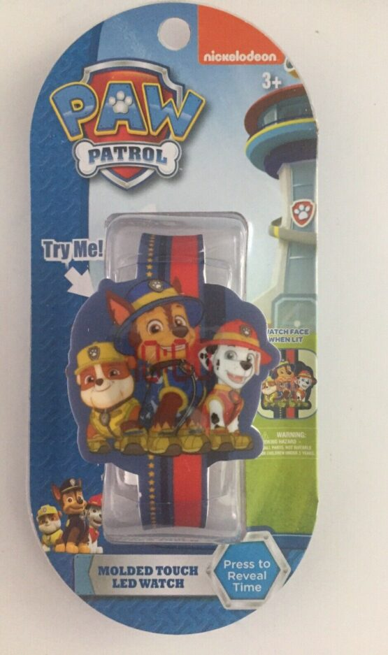 Nickelodeon Paw Patrol Touch LED Watch