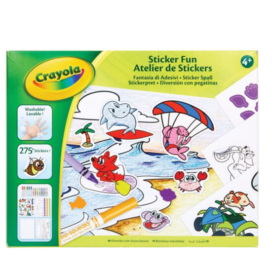 Crayola Sticker Kit – Art