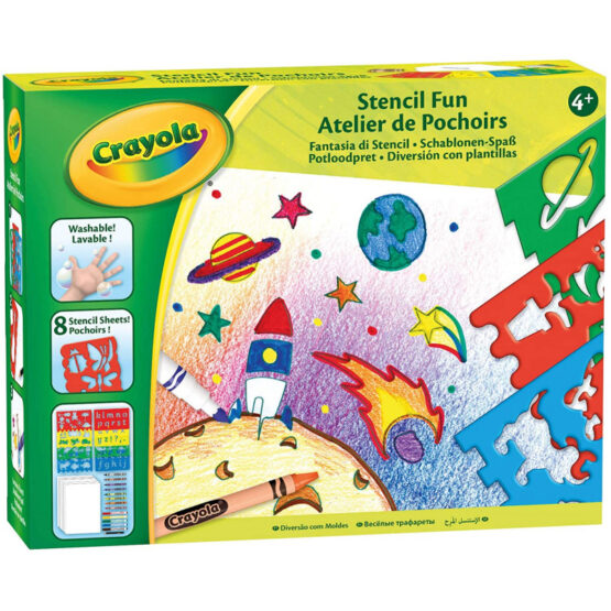 Crayola Creative Set | Drawing and Colouring with Stencils