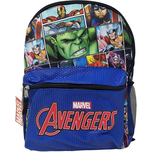 Marvel Avengers Backpack Comic Book w Pocket | 41 cm