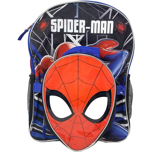 Marvel Spiderman 41 cm Backpack with Shaped Lunch Bag