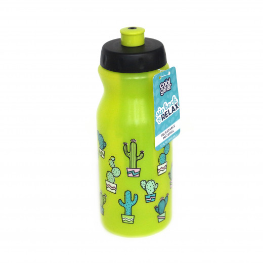Cool Gear Vip Back Bottle w Freeze Stick | Green | 650 ml