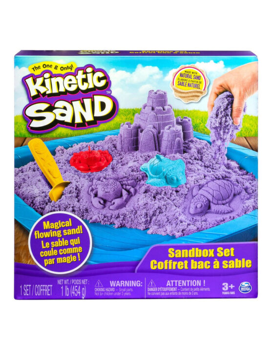 Kinetic Sand | Sandbox Playset Asst | Colors May Vary