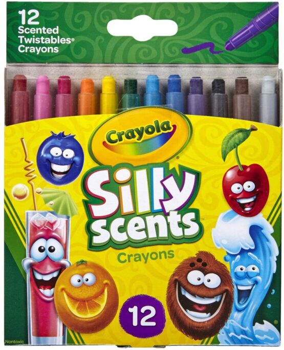 Crayola Silly Scents Twistables Crayons   Sweet Scented