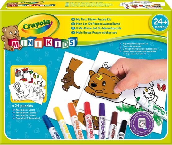 Crayola My First Sticker Puzzle Kit