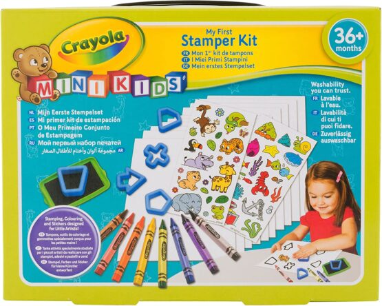 Crayola Mini Kids – My first kit of stamps