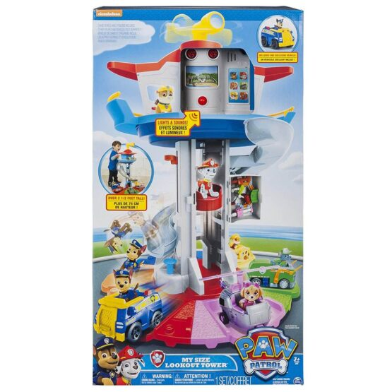 Paw Patrol Life sized Tower with Sound