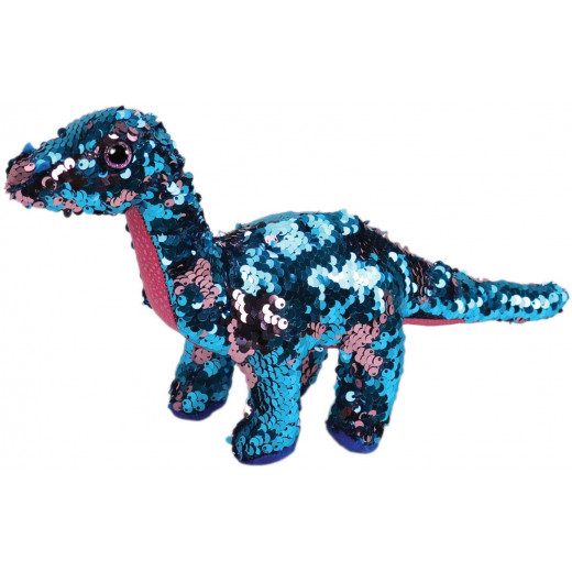 Ty Flippable Tremor The Aqua/Pink Sequin Dinosaur – 6″
