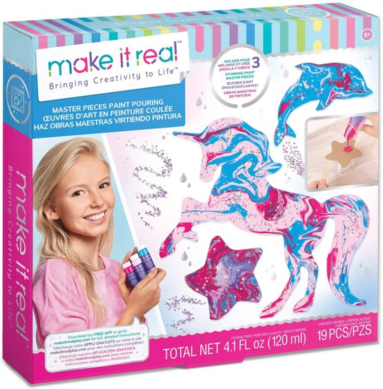 Make It Real | Masterpieces Paint Pouring | Acrylic Paint Pouring Kit