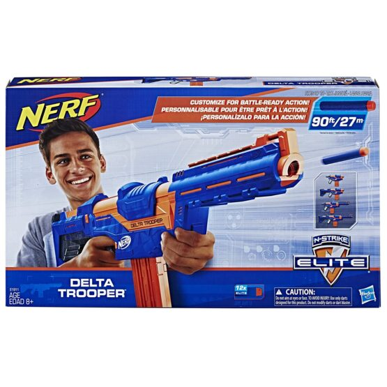 Nerf N-Strike Elite Delta Trooper Combat Blaster with Darts