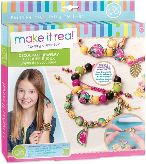 Make It Real | Decoupage-a-Bead Jewelry