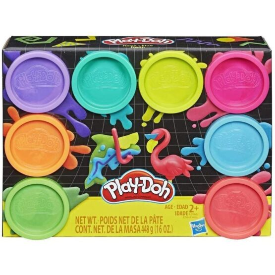 Play-Doh Pack 8 Jars Multicolored