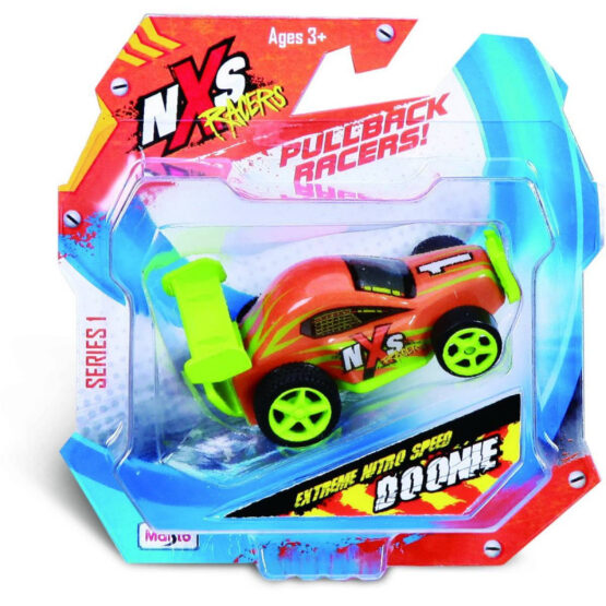 Maisto NXS Racers Highspeed Pullback Vehicles | Color May Vary