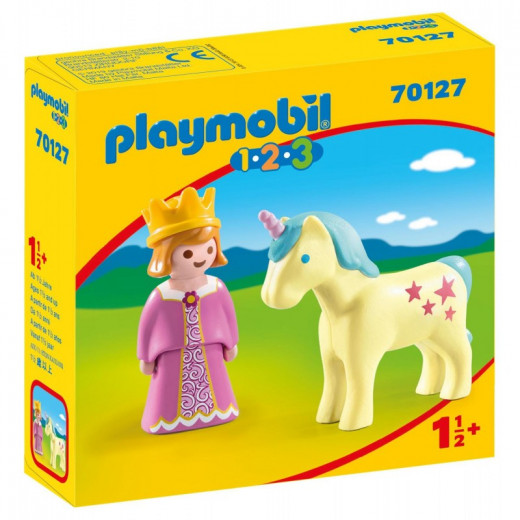 Playmobil Princess With Unicorn 70127