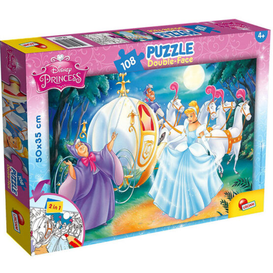 Lisciani Double-sided Puzzle | Cinderella