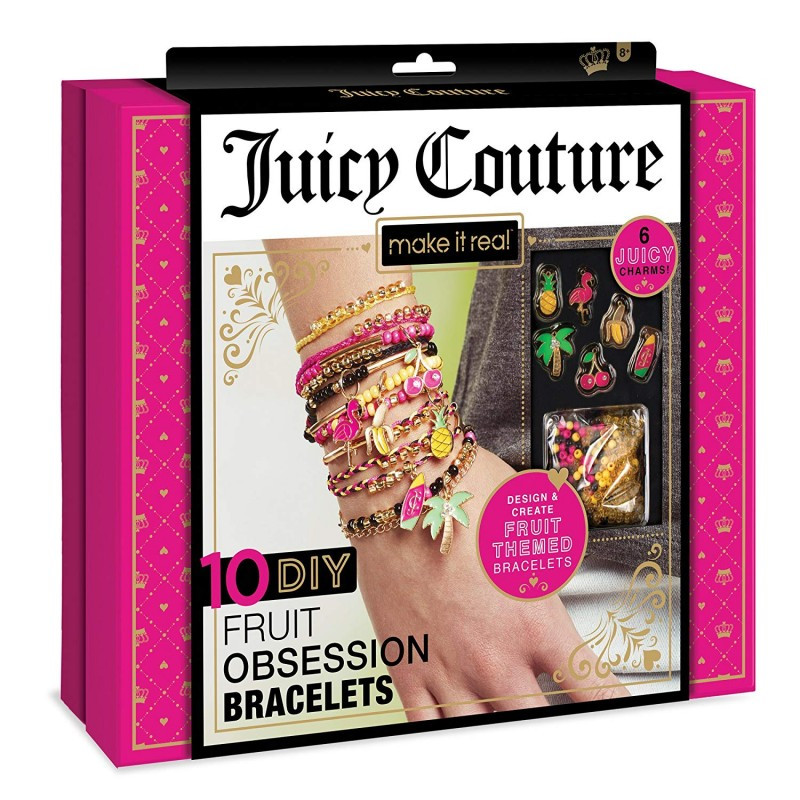 Make It Real | Juicy Couture 10 DIY Fruit Obsessions Bracelets