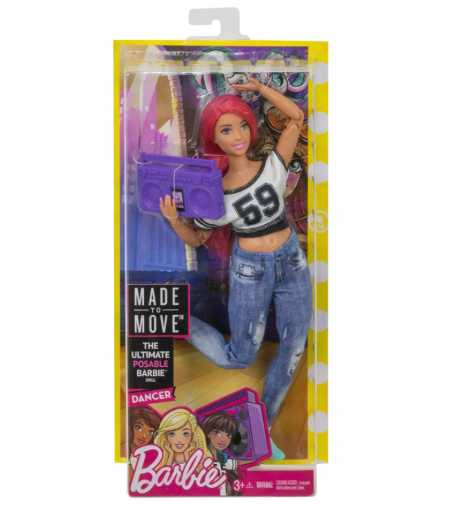Barbie Made to Move Dancer Doll