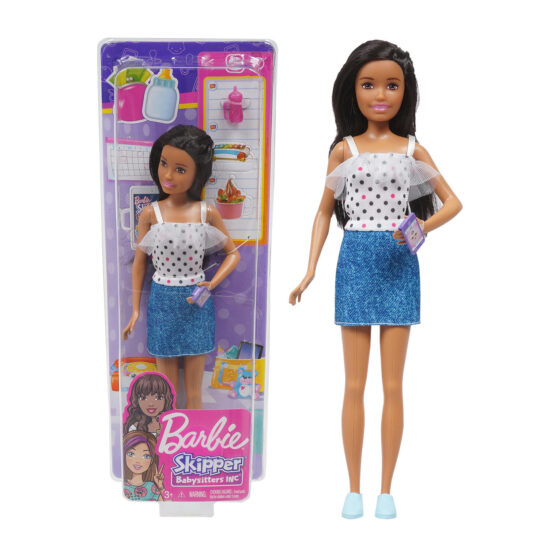 Barbie Skipper Babysitters Doll