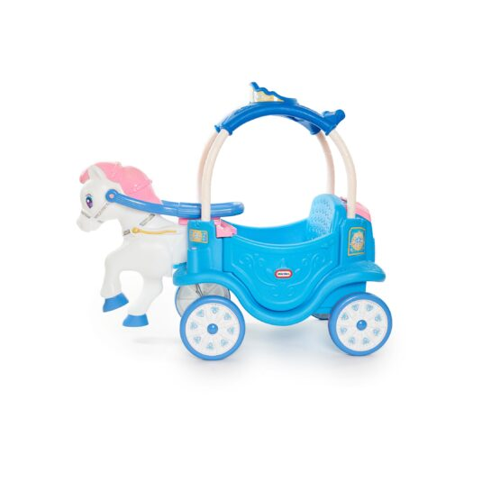 The Little Tikes Princess Horse & Carriage – Frosty Blue