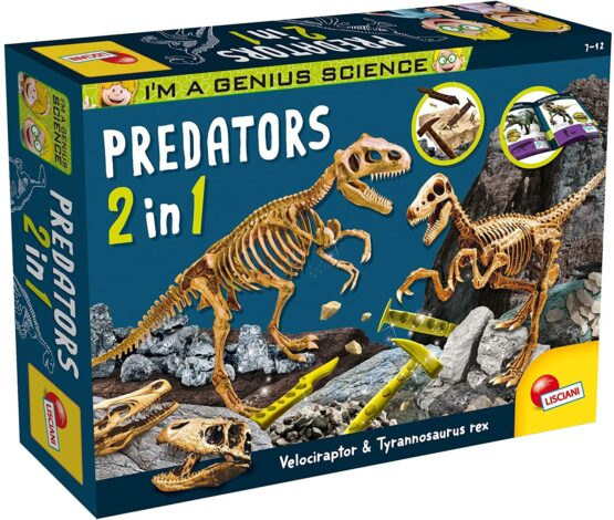 I'm A Genius Predators 2 in 1