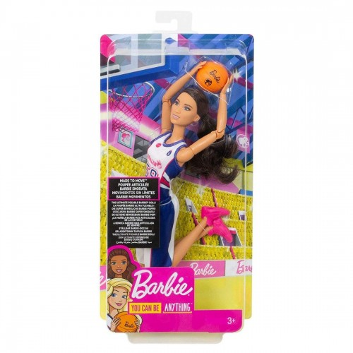 Barbie Made to Move Basketball Player