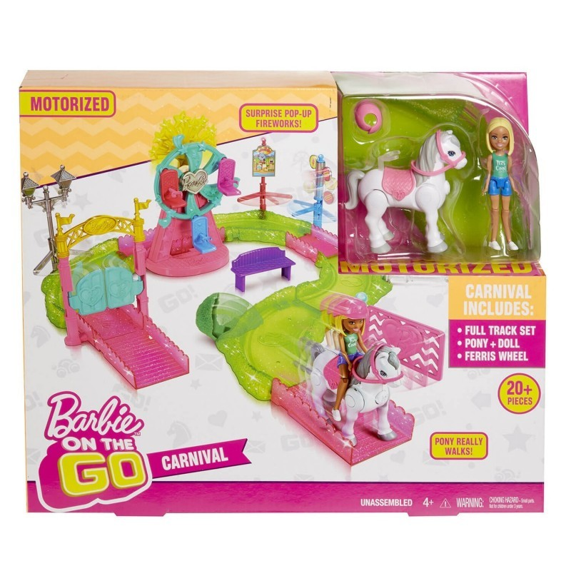 Barbie On The Go   Carnival Playset