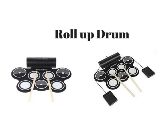 Silicone Drums Black | White