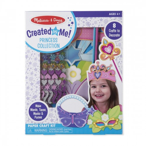 Melissa & Doug Princess Collection Paper Craft Kit