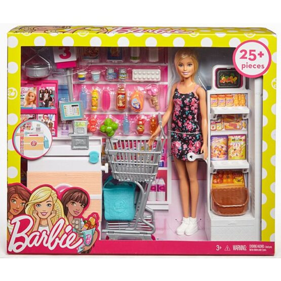 Barbie®Doll and Supermarket Playset