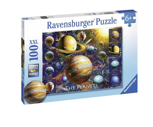 Ravensburger | The Planets XXl 100 Pieces Jigsaw Puzzle