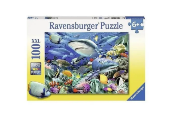 Ravensburger | Reef of The Shark XXl 100 Pieces Puzzle