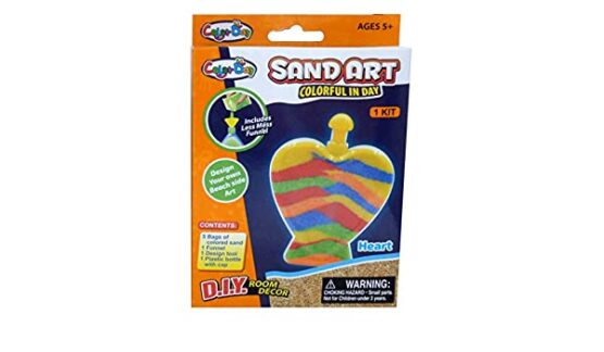 Color day sand art 1 design glow at Night