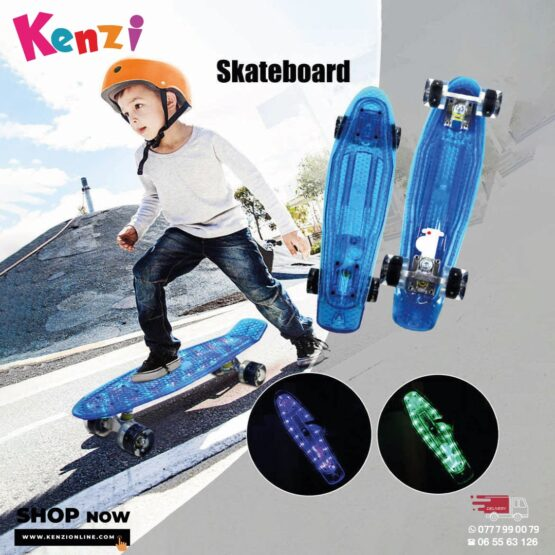 SkateBoard With Lights – USB Charging
